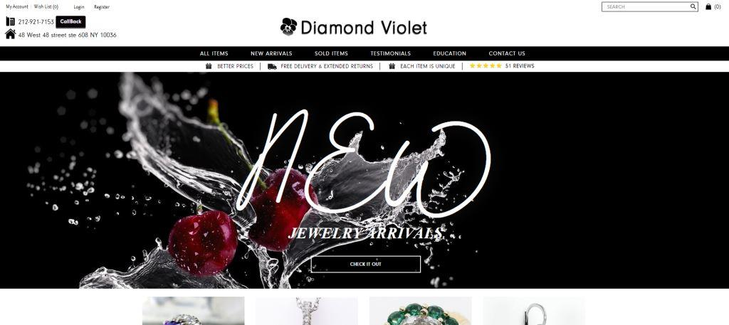 diamond-violet-jewelry-e-commerce
